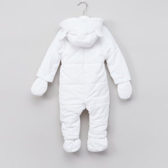 Juniors Quilted Coverall Sleepsuit