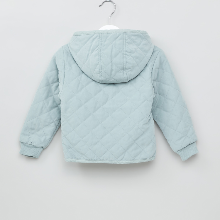 Giggles Textured Long Sleeves Jacket