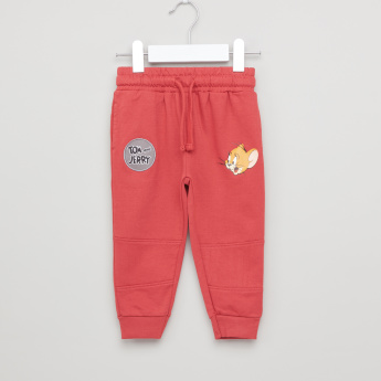 Tom and Jerry Joggers with Graphic Detail