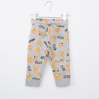 Tom & Jerry Printed Jog Pants