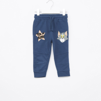 Tom & Jerry Joggers with Graphic Detail