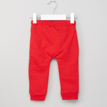 Juniors Embroidered Applique Pants