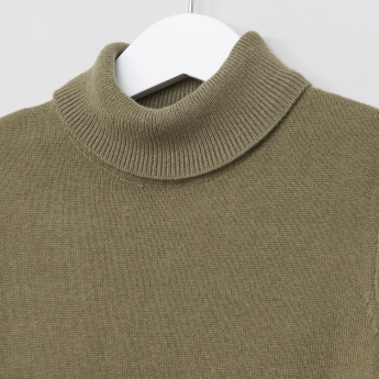 Juniors Turtleneck Sweater
