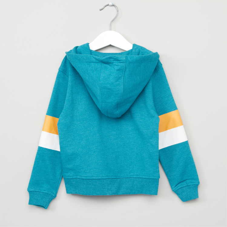 Juniors Long Sleeves Hooded Cardigan