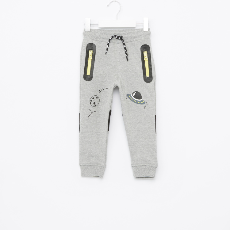 Juniors Jogger Pants with Zipper