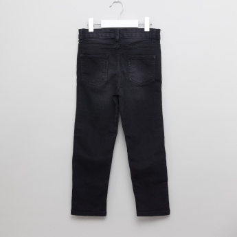 Juniors Textured Biker Pants