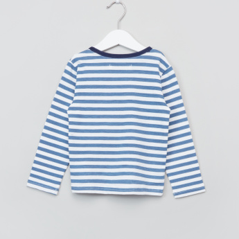 Eligo Striped Long Sleeves T-Shirt
