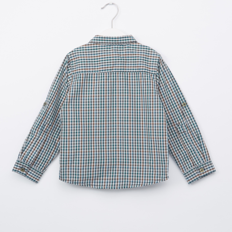 Eligo Chequered Long Sleeves Shirt