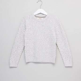 Eligo Knitted Round Neck Sweater