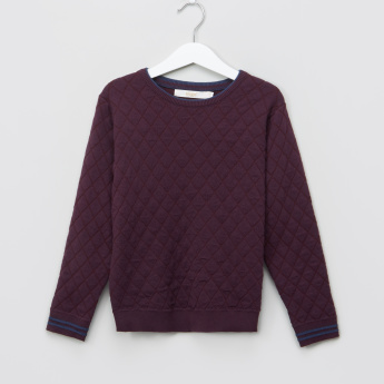 Eligo Quilted Long Sleeves Pullover