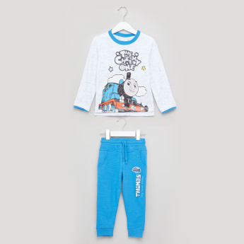 Thomas & Friends Printed Sweat Top with Jog Pants