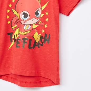 The Flash Printed Round Neck T-Shirt
