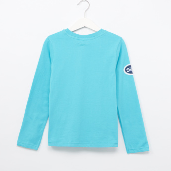 The Smurfs Printed Long Sleeves T-Shirt