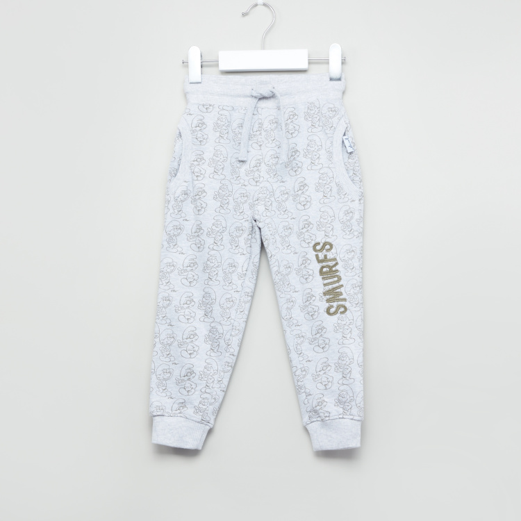 The Smurfs Printed Jog Pants