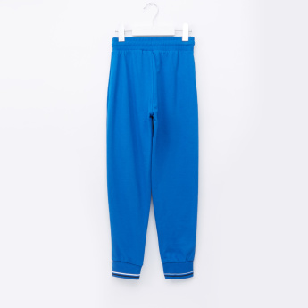 Juniors Printed Jog Pants with Pocket Detail and Elasticised Waistband