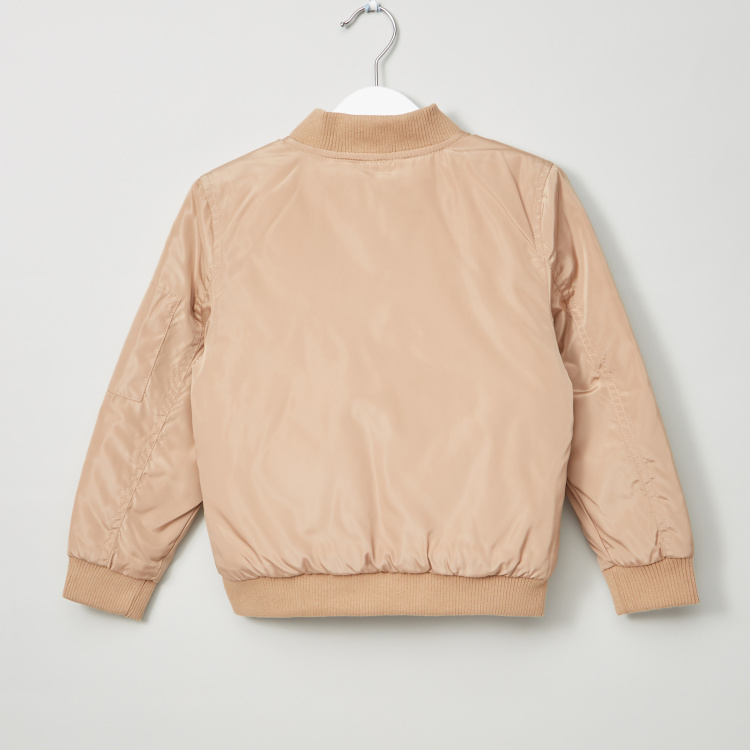 Juniors Long Sleeves Bomber Jacket