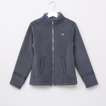Juniors Textured Long Sleeves Jacket