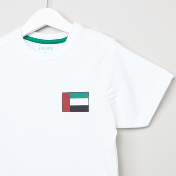 Juniors UAE Flag Print T-Shirt