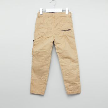 Juniors Crinkeled Woven Pants