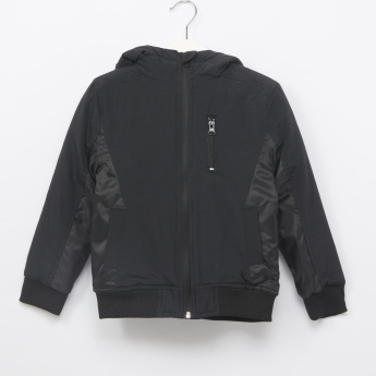 Juniors Cut and Sew Panelled Jacket