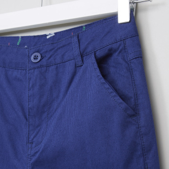 Juniors Textured Trousers
