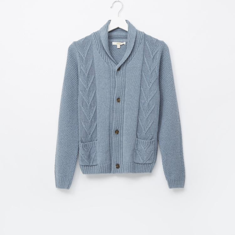 Eligo Zip-Thru Cardigan