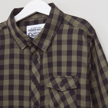 Posh Chequered Long Sleeves Shirt