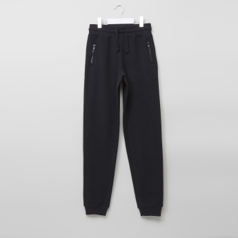 Posh Joggers with Zip Pocket