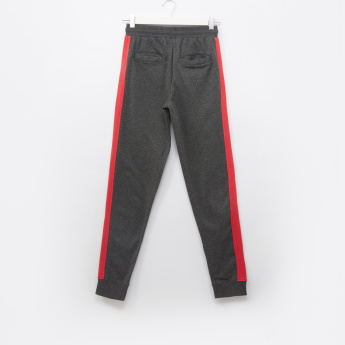 Tom and Jerry Applique Detail Jog Pants with Tape Detail