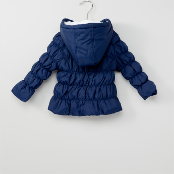 Quilted Padded Long Sleeves Jacket