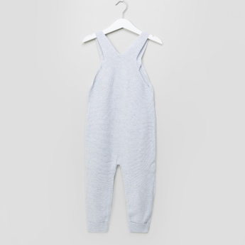 Giggles Textured Dungarees