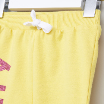 Tweety Printed Top and Jog Pants Set