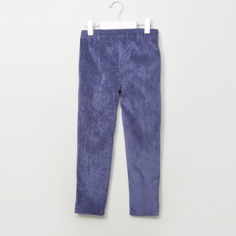 Eligo Textured Pants with Pocket Detail
