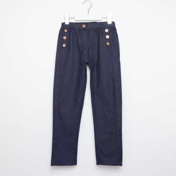 Eligo Button Detail Pants