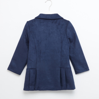 Eligo Long Sleeves Pleated Jacket