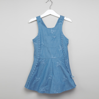 Eligo Denim Pinafore
