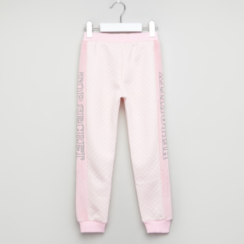 Hello Kitty Quilted Joggers