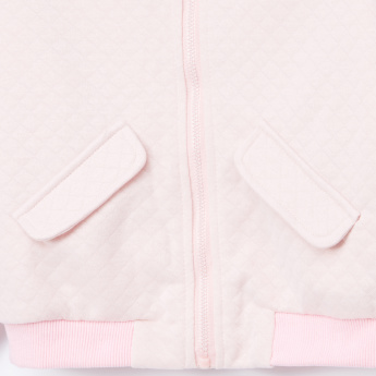 Hello Kitty Quilted Bomber Jacket