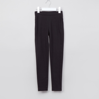 Juniors Full Length Leggings with Elasticised Waistband