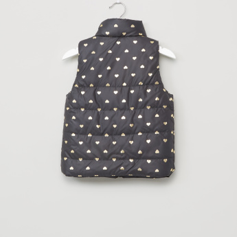Juniors Printed Gilet