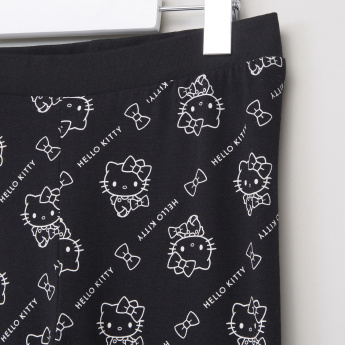 Hello Kitty Leggings with Print Detail
