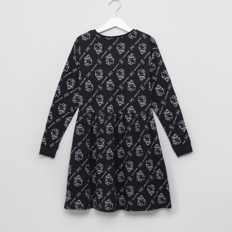 Hello Kitty Printed Face Sweat Dress