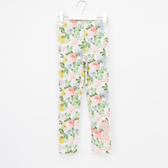 Barbie Floral Printed Jeggings