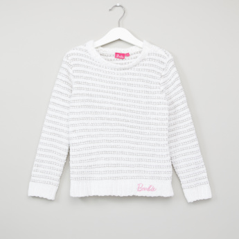 Barbie Plush Long Sleeves Sweater