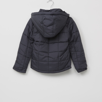 Juniors Square Pocket Jacket