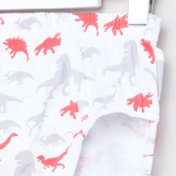 Jurassic World Printed Boxer Briefs - Set of 3