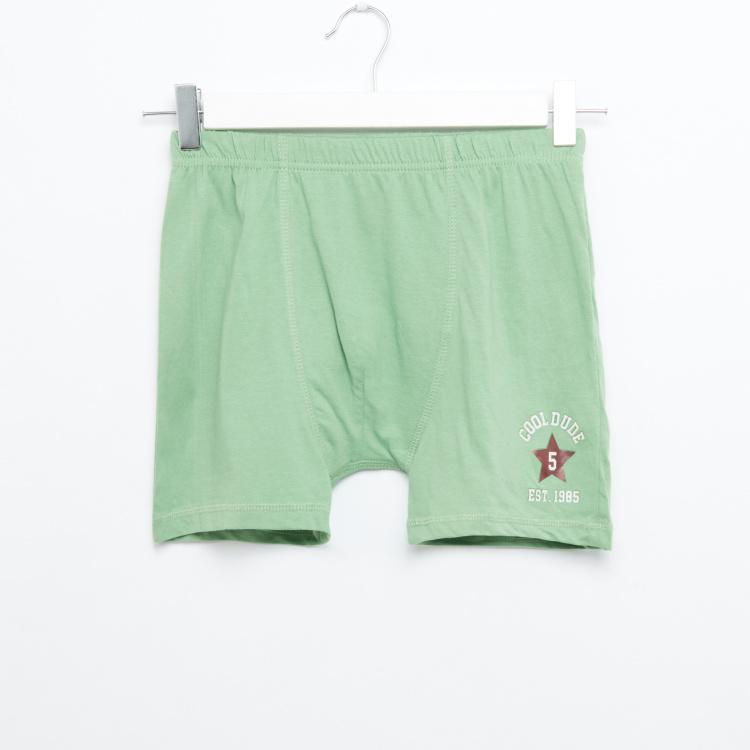 Juniors 5 Pack Star Boxer Short