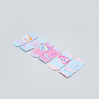 My Little Pony Printed Trainer Liner Socks - Set of 3