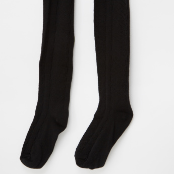 Juniors Closed Feet Tights - Set of 2