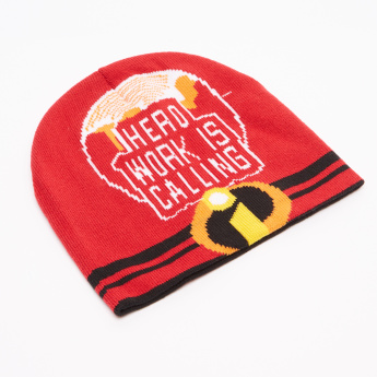 The Incredibles Printed Winter Cap